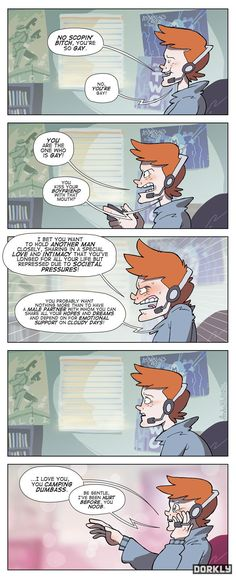 XBOX Live: Progress - Dorkly Comic