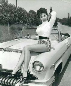 Rita Moreno on her 1954 Mercury