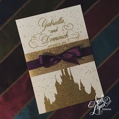 Disney wedding invitation#Wedding #Disney #RustManorHouse