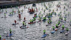 Record battu pour le Nautic Paddle de Paris 2018 Sup Stand Up Paddle, Sup Paddle, Sunday, Fishing Line