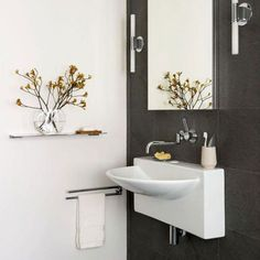 wall mounted bathroom sinks corner shower stalls for small bathrooms french country decorating ideas with regard to Reasons To Buy Wall Mounted Bathroom Sinks
