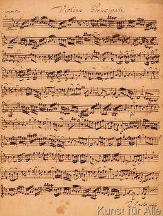Johann Sebastian Bach - The Brandenburger Concertos, No.5 D-Dur, 1721