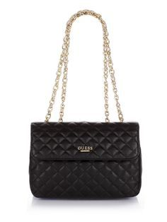 Suave Quilted Crossbody Flap Bag   GUESS.eu