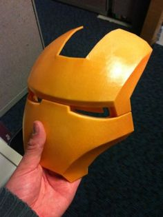 Printing an Ironman Helmet : 11 Steps (with Pictures) - Instructables Iron Man, 3d Printing, Helmet, Cool Stuff, Prints, Model, Pictures, Cool Things, Photos