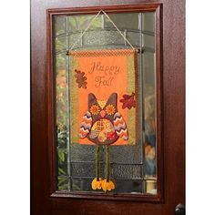 Hang this fun feathered friend on your front door or on a wall in any room since he is a tapestry! #kirklands #harvest