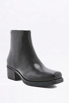 Vagabond - Bottines Ariana à bout carré en cuir noires