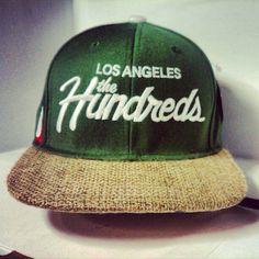 da628995e25 The Hundreds x Los Angeles fitted cap    Bespoke Cut and Sew. Josten McInnis