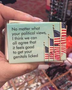 I'm tired of seeing political crap everywhere, so....here's something much more cheery
