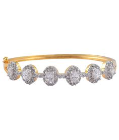 Adwitiya Collection Gold Plated American Diamand Braclets - High Quality, http://www.snapdeal.com/product/adwitiya-collection-gold-plated-american/1975137563