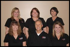 Front Row Left, Our Dental Assistant, Michelle. Michelle has worked in dentistry since 1998 and worked with Dr. Robison since 1998. A native of Scottsdale. Married to husband Barry with three children, Lee, Nichole and Chaz http://mesaazdentistfamilydentistry.com/about-robison-mesa-az-dentist-office