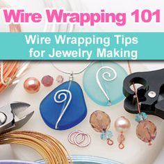 Learn about wire wrapping for #DIY #jewelry-making and find video instructions, project tutorials and product recommendations from the Beadaholique design team.
