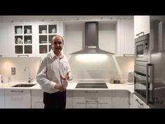 Cocinas pequeñas modernas rusticas blancas con encimera silestone - YouTube