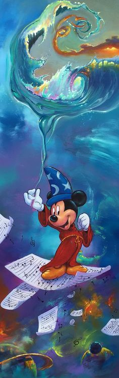 Mickey's Magical World by Jim Warren