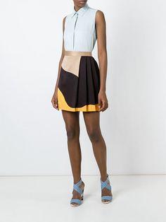 MSGM короткая юбка со складками