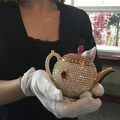 The Egoist teapot has been valued at $3 million dollars