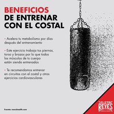 Beneficios de entrenar con el costal #costal #CletoReyes #box #boxinggloves #punchingbag #workout #training #sports #boxing #gloves #guantes (Mma Entrenamiento)
