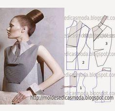 Moldes Moda por Medida: DETALHES DE MODELAÇÃO-34
