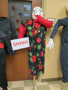 Librarian Scarecrow
