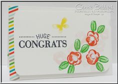Garden in Bloom, gift card envelope, Stampin' Up!, #stampinup, #giftcardholder, created by Connie Babbert, www.inkspiredtreasures.com