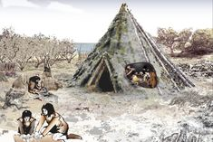 """archaeologicalnews: """"THE remains of an ancient dwelling believed to be Scotland's oldest house have been discovered on the banks of the River Forth. Experts say the Stone Age timber structure – which. Lappland, Archaeological Discoveries, Archaeological Site, Timber Structure, Stone Age, Picts, Historical Pictures, Hunter Gatherer, British Isles"""