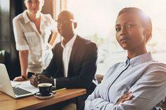 Confident black business woman by Stefan & Janni on Creative Market