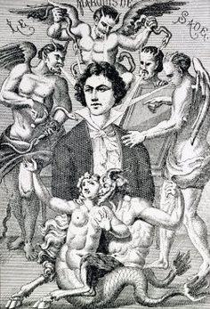 Resultado de imagem para sade devil illustration