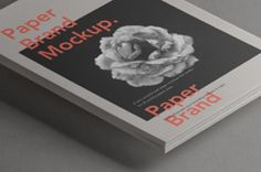 This is a new stack of psd paper letterhead mockup to let you display any branding designs. You can add your...