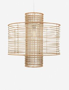Shop this product on Havenly, where you can also browse similar products across other brands and even get interior design help to transform your space. Rattan Light Fixture, Outdoor Light Fixtures, Pendant Light Fixtures, Ceiling Light Fixtures, Pendant Lighting, Ceiling Lights, Light Pendant, Hexagon Coffee Table, Family Room Lighting