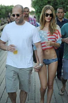Jason Statham and Rosie Huntington - Whiteley