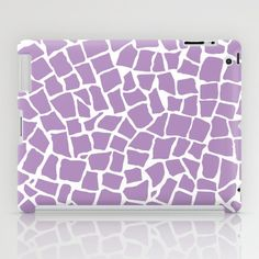 British Mosaic Orchid iPad Case #British #mosaic #orchid #radiant #lavender #pink #purple #white #projectm