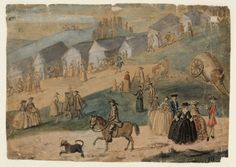 Susanna Duncombe (née Susanna Highmore), 'A Country Fair with Numerous Figures' c.1750