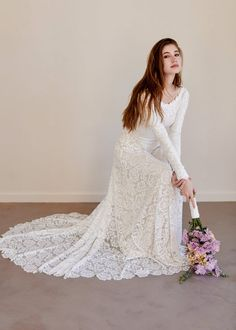 2d35e4e82 539 Best Long Sleeved Wedding Dresses images in 2019 | Alon livne wedding  dresses, Bridal gowns, Dress wedding