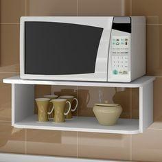 Pin de brenda marie montague en kitchen en 2019 microwave shelf kitchen rack y oven racks - Soportes para microondas ...