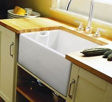 For the new house! Rangemaster Classic Belfast CCBL595WH Single Bowl Sink 565.59.700 (Hafele)