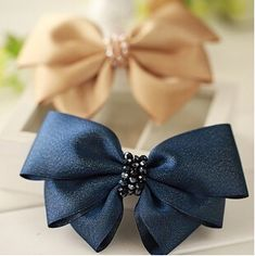 2015 New Bow Tie Hair Pins Lace Hair Clips Ribbon Graceful Hair Accessories Hot Selling