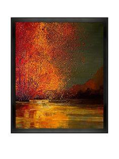 """Justyna Kopania """"Autumn (Orange Trees)"""" Framed Canvas Print, http://www.myhabit.com/redirect/ref=qd_sw_dp_pi_li?url=http%3A%2F%2Fwww.myhabit.com%2Fdp%2FB00UXA2QEU%3F"""