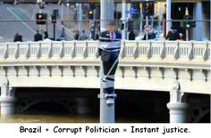 I like how they treat corrupt politician  // funny pictures - funny photos - funny images - funny pics - funny quotes - #lol #humor #funnypictures