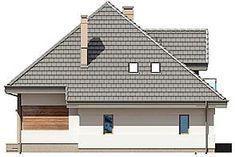 Projekt domu Opałek III N 134,43 m2 - koszt budowy 224 tys. zł - EXTRADOM Home Fashion, Cabin, House Design, House Styles, Home Decor, Opal, Decoration Home, Room Decor, Cabins