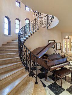 Modern und elegant oder rustikal und kraftvoll - Ihre Treppe soll wie Ihr Lebensraum individuell sein.   http://www.granit-deutschland.net/granit-treppen