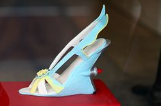 It's a cake in the shape of those Prada car shoes!