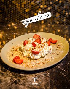 Μια απίθανη #pavlova🍓 για να γεμίσει γλυκά η μέρα σου!  💻 www.famiglianodelivery.gr ☎️ 2316.008.188 ➡️ Τσιρογιάννη 5, απέναντι από τον Λευκό Πύργο  #handmade_happiness #Λευκός_Πύργος #famigliano #ourplace #myfamigliano Pavlova, Grains, Rice, Happiness, Food, Bonheur, Eten, Being Happy, Happy