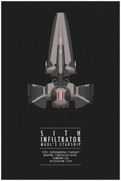 Star Wars - Sith Infiltrator by Thong Lee *