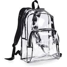 Clear Book Bags On A Budget My Backpack 90s Grunge Rucksack Bag