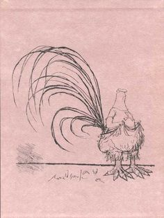 Early Sketch - Ronald Searle
