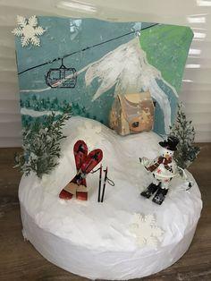 Die kleine Skihütte ist aus Geld gemacht Folding Money, Ski Trips, Mountains