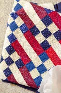 Quilt of Valor by Alycia @Craftsy