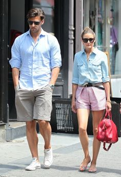 THE OLIVIA PALERMO LOOKBOOK: Olivia Palermo and Johannes Huebl Out in NYC