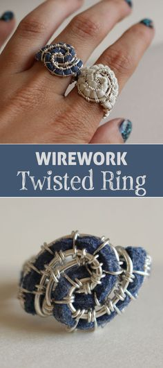 Twisted rings are probably the easiest type of ring to make.