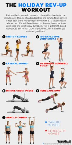 The Workout That Will Boost Your Metabolism Before Thanksgiving | @womenshealthmag