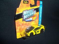 Maisto Honda Civic SI Muscle Machines Garage 2014 Yellow 1:64 Scale #Maisto #Honda